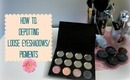 How To: Depot Loose Eyeshadow/Pigments