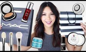 MAC & Sephora Haul! | Repurchases & New Items
