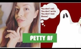Ghosting: Storytime + How to Deal