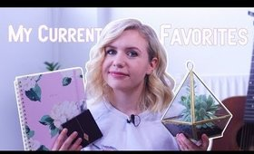 My Current Favorites - Fashion, Makeup and Home Decor!