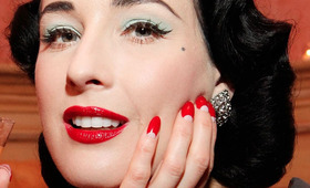 New Dita Von Teese Nails by Kiss