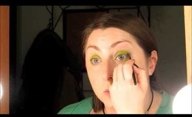 Locuras Femeninas - Tutorial de maquillaje - Monsters Inc Mike Wazowsky