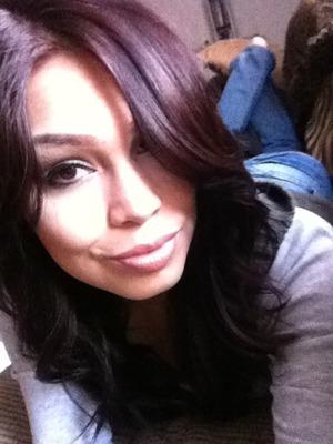 new hair color  .....Loreal Feria  36 warmer  deep burgandy brown  ... walmart