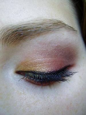 gryffindor inspired eyeshadow tutorial harry potter house series
