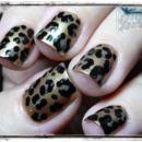 Rockabilly Luau Leopard Print