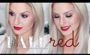 Autumn/Fall Smokey Eye & Red Lip ♡ Chit Chat Get Ready With Me