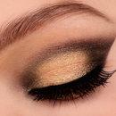 Black/gold gradient look
