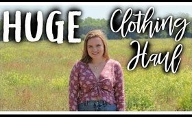 HUGE Clothing Haul: Birkenstock, Kendra Scott, Dress Up, Target, Boutique,