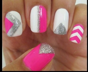 I love this nail design, but it's not my mine.