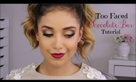 Too Faced Chocolate Bar Palette Tutorial (Full Face)
