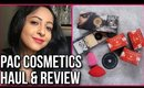 *NEW* PAC Cosmetics Haul + Review | Baking Powder, Translucent Powders, HD Liquid Foundations