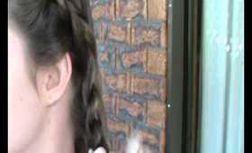 School Hair: Greek Goddess Braid