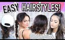 7 EASY & QUICK HAIRSTYLES FOR EVERYDAY