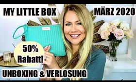My Little Box März 2020 mit 50% Rabatt? UNBOXING & VERLOSUNG