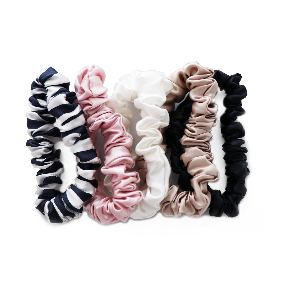 Slip Midi Silk Scrunchie product swatch.