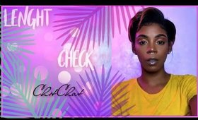 "LENGHT CHECK CHIT CHAT|:  ADDRESSING YOU SO CALLED ""BLACK ISREAL MEN"""