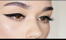 My Perfect Winged Eyeliner | How I Do It