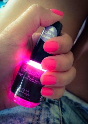 Nice nail polish for Halloween
