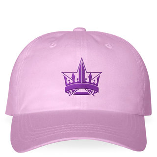 Lavender Crown Dad Hat