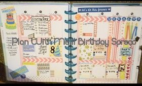 Plan with Me || Happy Birthday