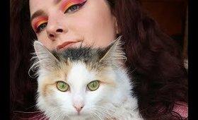 Red and Yellow  Eye look | MeinonZondag