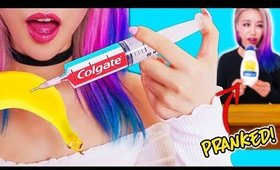 10 Pranks For Back To School! Prank Wars!
