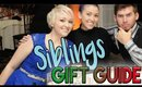 GIFT GUIDES GALORE! Gifts for Siblings | VLOGMAS Day 9