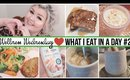 Wellness Wednesday #3 | What I Eat In A Day #2 (Realistic + Vegetarian)