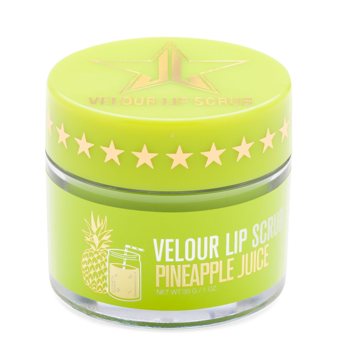 Jeffree Star Cosmetics Velour Lip Scrub Pineapple Juice