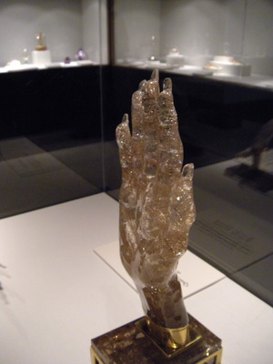 Crystal Carved Hand