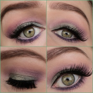 When you feel like wearing a fresh but still glamorous look this might be great. I bet this would look great with blue eyes. I used sleek palettes and lashes are from ebay. Instagram: http://instagram.com/makeupbyeline/