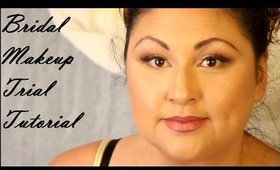 Bridal Makeup Trial tutorial featuring SKINDINAVIA | Beauty by Pinky