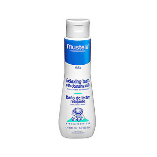 Mustela Relaxing Bath With Cleansing Milk