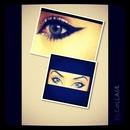 dramtic eye liner