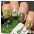 St Patrick's Day Nails 2014
