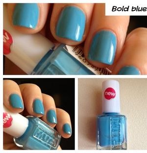 Mua bold blue