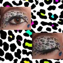Rainbow Cheetah Print Eyes