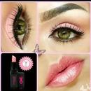pink eye look