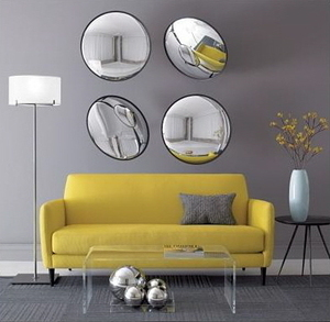 My favorite colors together grey and yellow!