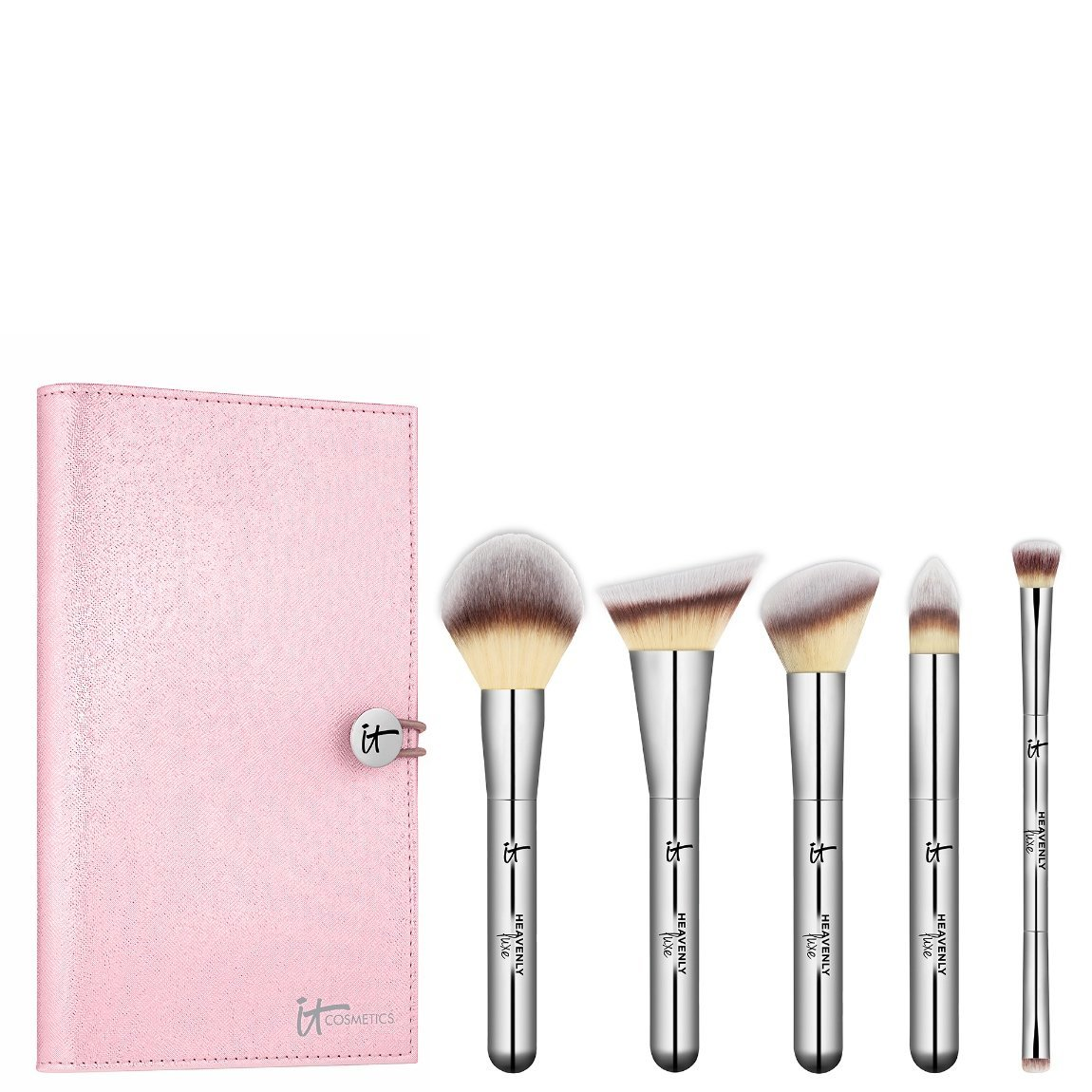 IT Cosmetics  Heavenly Luxe Must-Haves Brush Set product swatch.