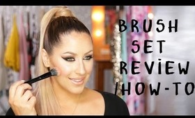 How To / Review: Coastal Scents Brush Set