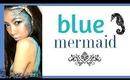 HALLOWEEN LOOK : Blue mermaid