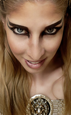 Dothraki look for my Game of Thrones series @ http://pigmentsandpalettes.blogspot.com/