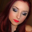 Jewel Toned Smokey Makeup