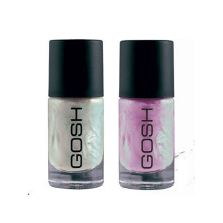 GOSH Cosmetics Frosty / Pearly Colors