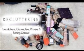 MAKEUP DECLUTTER PART ONE! | Decluttering 80 PRODUCTS!!!
