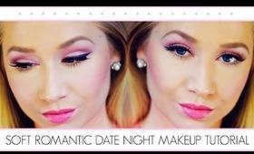 Soft Romantic Date Night Complete Makeup Tutorial