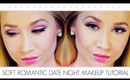 Soft Romantic Date Night Complete Makeup Tutorial