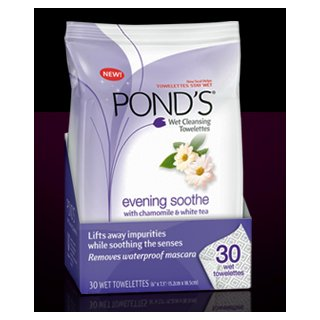 Ponds Evening Soothe Towelettes