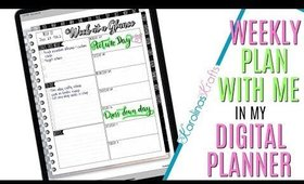 Setting up Weekly Digital Plan With Me Jan 26 to Feb 2 PROCESS, Digital PWM Jan 27 to 11 to Feb 2